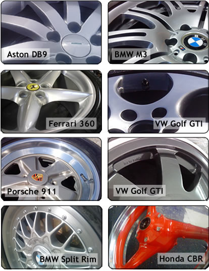Paint it UK Alloy Wheel Refurbishment Billericay Essex