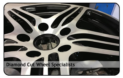 diamond cut wheel refurbishment essex
