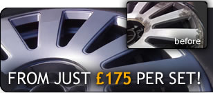 Alloy wheel repair essex